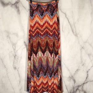 NWT Renee c. Cora print maxi skirt for stitch fix